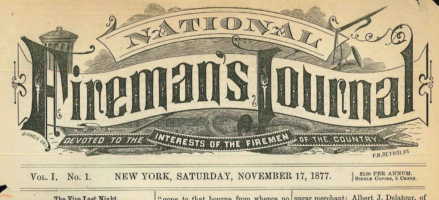 National Fireman's Journal header