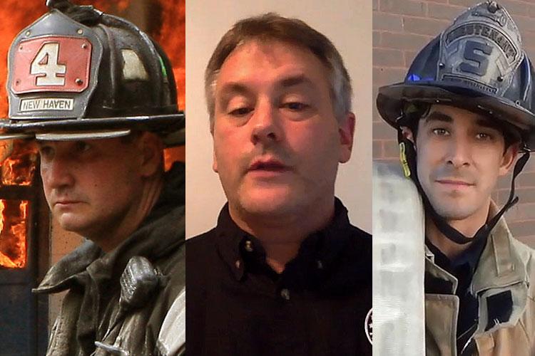 Frank Ricci, David Polikoff, and Nick Papa