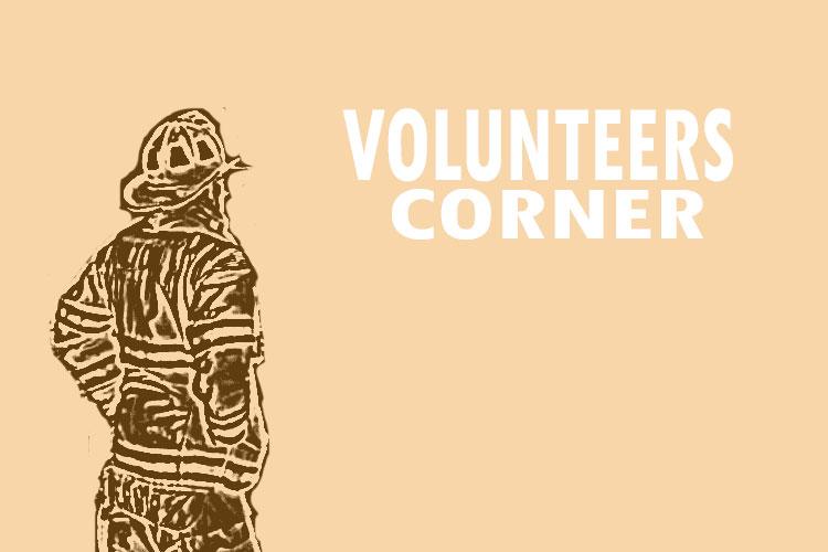 Volunteers Corner