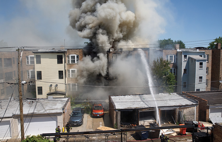 Chicago Rowhouse Fire